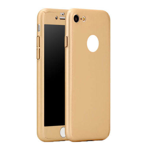 New Hybrid 360° New Shockproof Case Tempered Glass Cover For Apple iPhone 5s 6s 7 SE - mobilecare17
