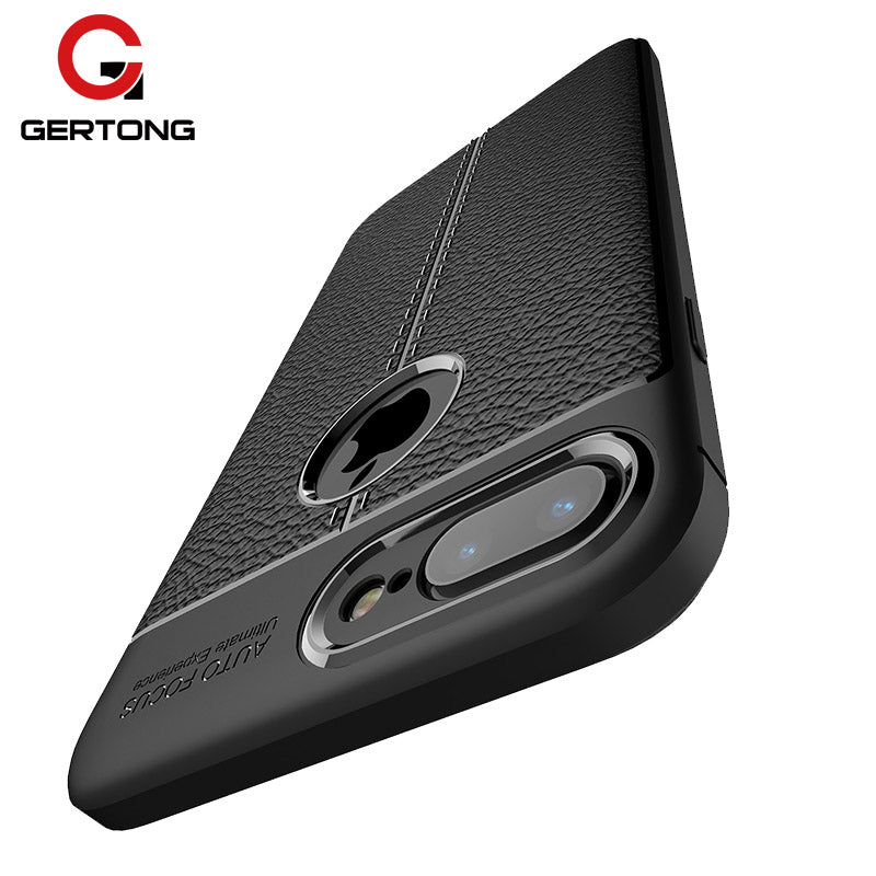 Luxury Soft TPU Phone Case For iPhone XS Max XR 6S 6 7 8 Plus X Cases Full Protection Silicone Back Cover Leather Texture Case - mobilecare17