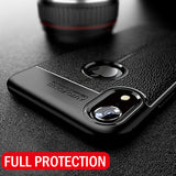 Luxury Leather Pattern Phone Case For Apple iPhone X XR XS Max Soft Silicone Shockproof Cover For iPhone 7 8 6 6s Plus Cases