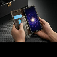 Luxury Business wallet Stand Flip Cover Leather case for Samsung S8 / S8 Plus Mobile phone bag