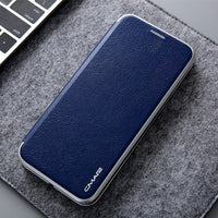 Luxury PU Leather Wallet Card Slot Slim Case Magnetic Flip Cover For iPhone XS Max XR XS X 6 7 8 Plus - mobilecare17