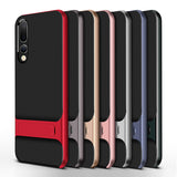 Mobile Case Back Cover for Huawei P20 P20Pro Stand Case Cover Shockproof 360 Full Protective 3D Hybrid for HuaweiP20 Pro Fundas - mobilecare17