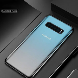 Soft Silicon case For Samsung Galaxy S10 plus S10e cases Clear TPU for Samsung Galaxy S10 S10Plus S10 E Anti-knock cover - mobilecare17