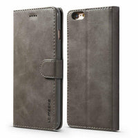 Luxury PU Leather Flip case with Credit Card Holder for iPhone XS Max XR XS X 8 7 6s 6 Plus
