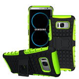 Hard Armour Shock Proof Builders Case Cover Samsung Galaxy S8/ S9/S9 Plus - mobilecare17