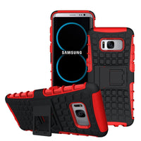 Hard  Armour Shock Proof Builders Case Cover Samsung Galaxy S8/ S9/S9 Plus