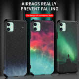 Case For Apple iPhone 11 Pro Max / iPhone XR / iPhone XS Max Shockproof / Pattern Back Cover sky TPU / Silicone