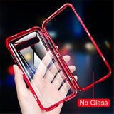 Case For Samsung Galaxy Galaxy A50(2019) / A71 Shockproof / Transparent Back Cover Solid Colored Tempered Glass / Metal