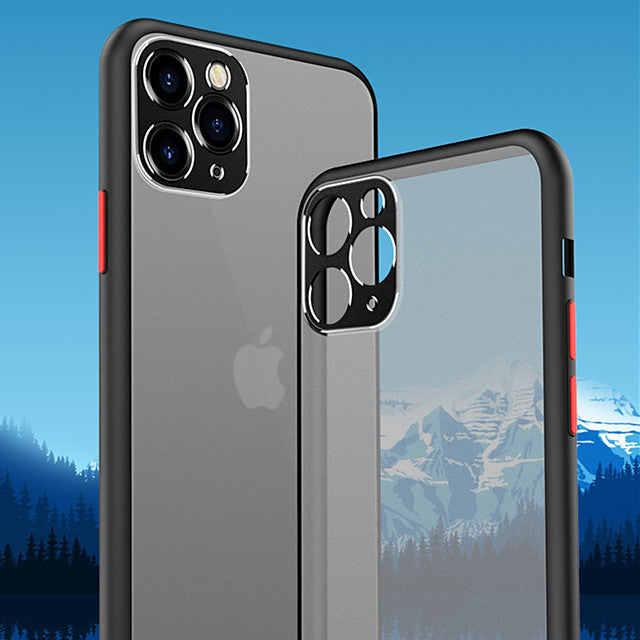 Case For Apple iPhone 11 Pro 11 Pro Max 11 Camera Protection Bumper Frosted Back Cover Colored XS Max XR XS X 8 8 Plus 7 7 Plus