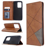 For Samsung Galaxy S20 Ultra, S20 Plus S10 Plus Wallet + Card Holder & Stand Case Cover