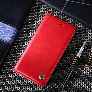 Luxury PU Leather case for iPhone 11 iPhone XR Shockproof + Card Holder