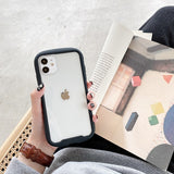 Case For Apple iPhone 11 / iPhone 11 Pro / iPhone 11 Pro Max Shockproof Back Cover Transparent / Solid Colored TPU