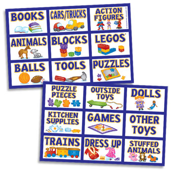 Children's Toy Labels