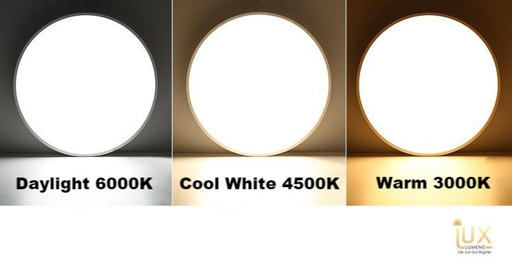 Lux-Lumens | Round 18W/24W/36W LED Ceiling Light for Singapore BTO / Resale / Condos / Landed / Restaurants / Hotels / Offices