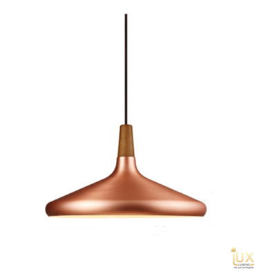 Lux-Lumens | Singapore's Fully-Online Lighting Retail - Pendant Lights, LED Ceiling Lights & Fans. Complement your Scandinavian & Nordic Themed Homes/Business with the Scandinavian Rose Gold Pendant Light. LED Bulbs Compatible. Free Island-wide Delivery - No Minimum Purchase for all BTO, Resale, EC, Condo, Resturants, Cafes, Hotel & Retail Lighting.