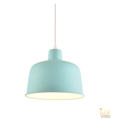 Lux-Lumens | Singapore's Fully-Online Lighting Retail - Pendant Lights, LED Ceiling Lights & Fans. Complement your Scandinavian & Nordic Themed Homes/Business with the Scandinavian Macron Bowl - Baby Blue Pendant Light. LED Bulbs Compatible. Free Island-wide Delivery - No Minimum Purchase for all BTO, Resale, EC, Condo, Resturants, Cafes, Hotel & Retail Lighting.