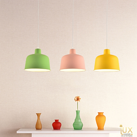 Lux-Lumens | Singapore's Fully-Online Lighting Retail - Pendant Lights, LED Ceiling Lights & Fans. Complement your Scandinavian & Nordic Themed Homes/Business with the Scandinavian Macron Bowl Pendant Light. LED Bulbs Compatible. Free Island-wide Delivery - No Minimum Purchase for all BTO, Resale, EC, Condo, Restaurants, Cafes, Hotel & Retail Lighting.