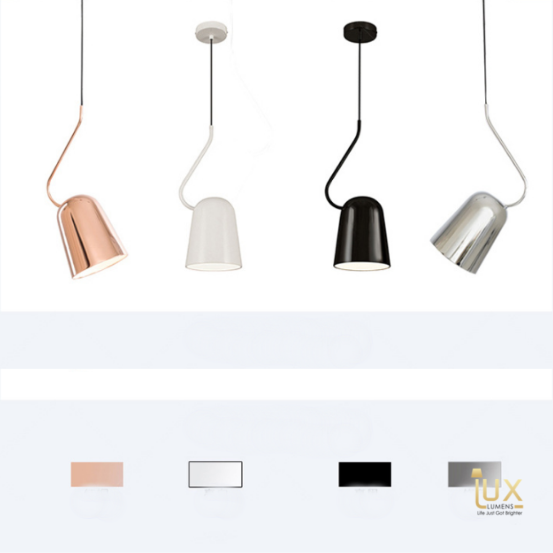 Singapore's Fully-Online Lighting Retail - Rose Gold Pendant Light with Free-Delivery for all BTO, Resale, EC, Condo, Landed, Restaurants, Cafes, Hotels & Retail Lighting