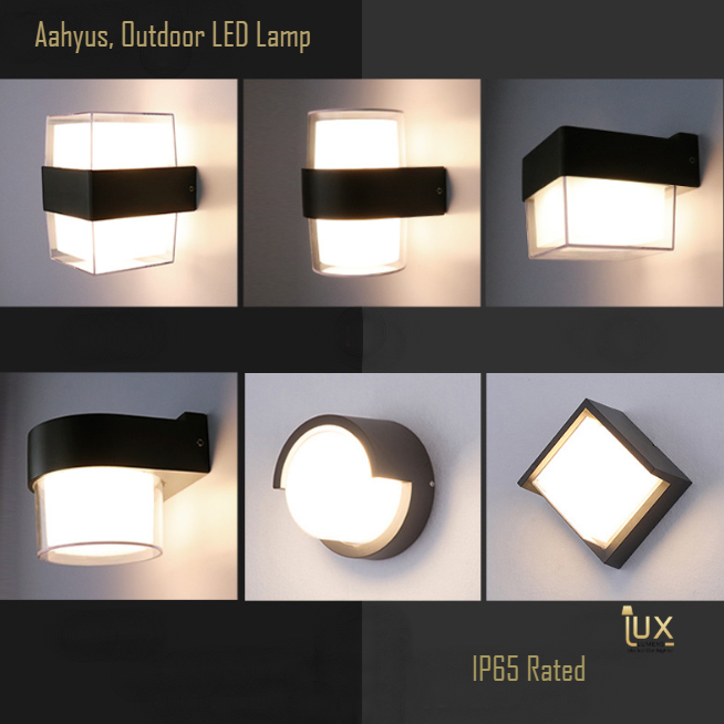 IP65 Outdoor LEDs Lamp, Weather & Dust Proof. Cheapest Quality Lighting Online, Singapore's Lighting Gallery for BTO flats, Resale flats, EC, Condo, Landed homes, Restaurants, Retail & Cafes. Free Delivery