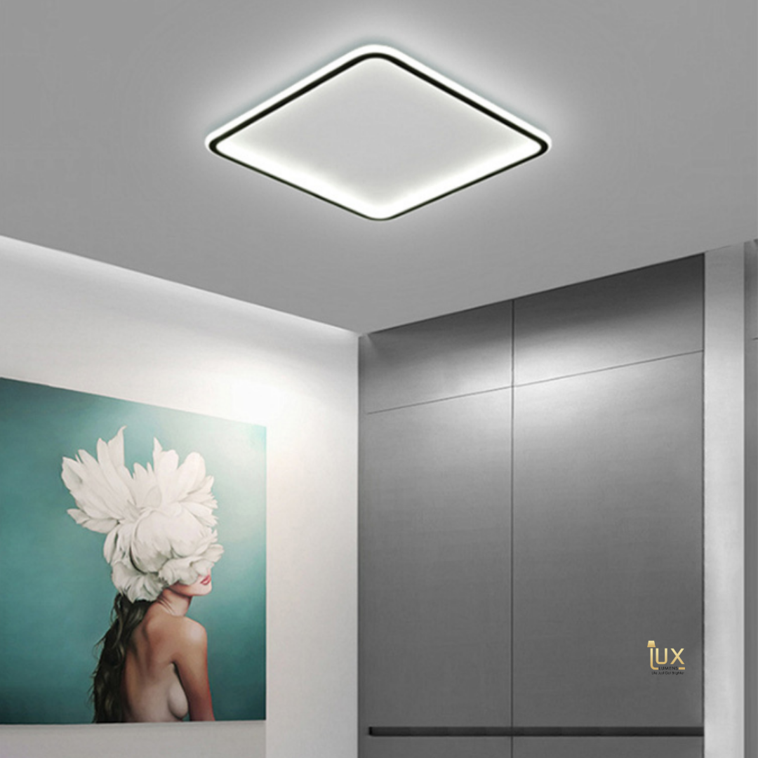 Singapore's Fully-Online Lighting Gallery - Pendant Lights, LED Ceiling Lights & LEDs Wall Lamps. Get your Aureola - Square LEDs Ceiling Light for your BTO Home Lighting, Resale Home Lighting, EC / Condo Home Lighting, Landed Lighting, Restaurants Lighting, Offices Lighting, Hotels & Retail Lighting.