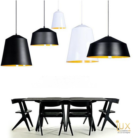 Lux-Lumens | Singapore's Fully-Online Lighting Retail - Pendant Lights, LED Ceiling Lights & Fans. Modern meets Luxury with the Modern Matte-Monotone Pendant Light. Instant utility savings of up to 40% by fitting the lamp with LED Bulbs. Free Island-wide Delivery - No Minimum Purchase for all BTO, Resale, EC, Condo, Resturants, Cafes, Hotel & Retail Lighting.