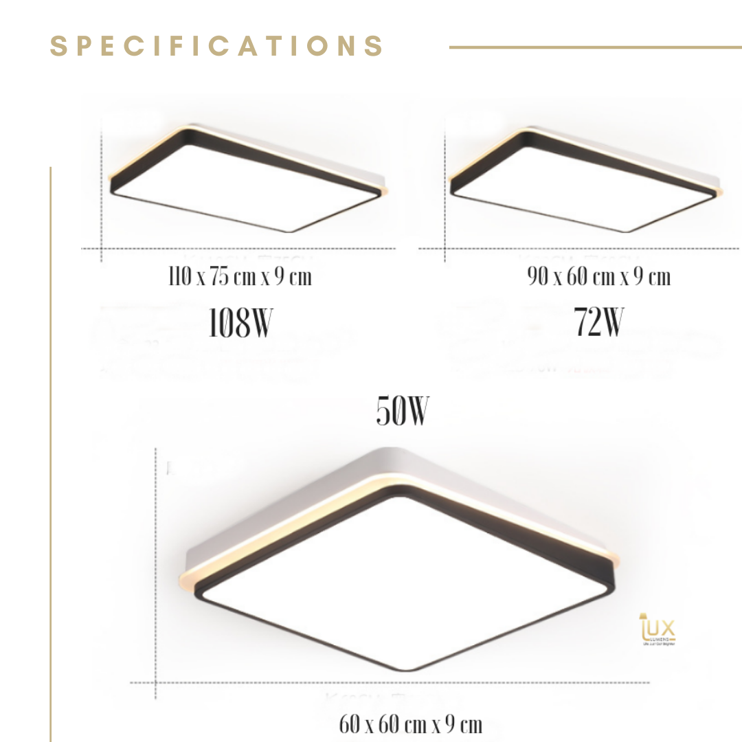 Cromatica - Contemporary LEDs Ceiling Light
