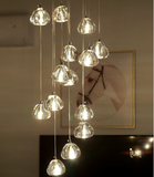 Cheapest & high-quality Modern Glassware & Crystal Pendant Lights, Clear Glass, Clean Finishes and Modern Design Looks, compatible with LED Light Bulbs from Lux-Lumens, Singapore's Fully-Online Lighting Retail for BTO, Resale, EC, Condo, Landed, Restaurants, Cafes, Hotels & Retail Shops. Free-Delivery, No Minimum Purchase in Singapore!