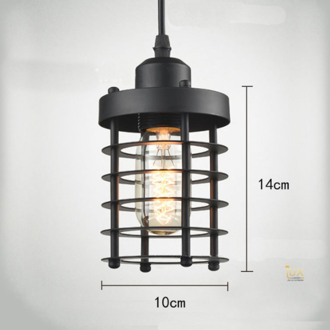 Singapore's Fully-Online Lighting Gallery - Pendant Lights, LED Ceiling Lights & Wall Lamps. Get your Derby - Vintage Industrial Pendant Light with Free Local Delivery - No Min. Purchase for all BTO Home Lighting, Resale Home Lighting, EC / Condo Home Lighting, Restaurants Lighting, Cafes & Retail Lighting.