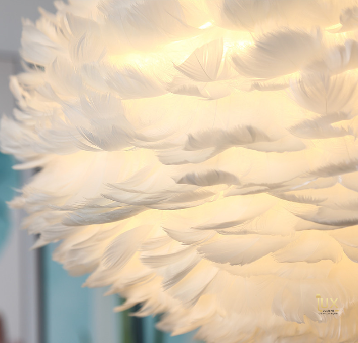 Feathers of the Skies Pendant Light