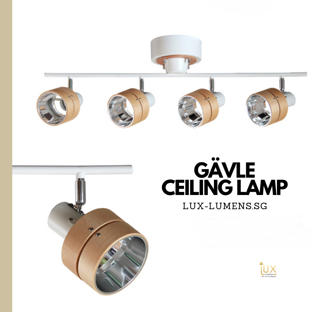 Singapore's Fully-Online Lighting Gallery - Pendant Lights, Hanging Lamps, LED Ceiling Lights & Wall Lamps. Get your very own Scandinavian Gävle Ceiling Lamp with Free Local Delivery for all BTO Lighting, Resale Lighting, EC / Condo Lighting, Restaurants Lighting, Cafes Lighting, Hotel Lighting & Retail Lighting.