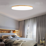 Lux-Lumens | Singapore's Fully-Online Lighting Retail - Pendant Lights, LED Ceiling Lights & Fans. Muji Wood LED Ceiling Light Scene Display. Instant utility savings of up to 40% by fitting the lamp with LED Bulbs. Free Island-wide Delivery - No Minimum Purchase for all BTO, Resale, EC, Condo, Restaurants, Cafes, Hotel & Retail Lighting.