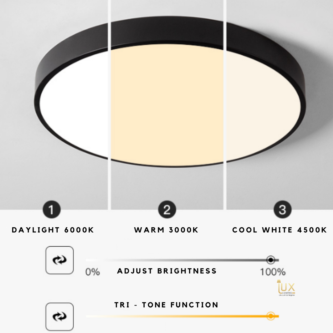 Heütig - Round LEDs Ceiling Light