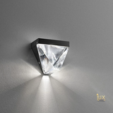 Leroux Crystal Wall Lamp