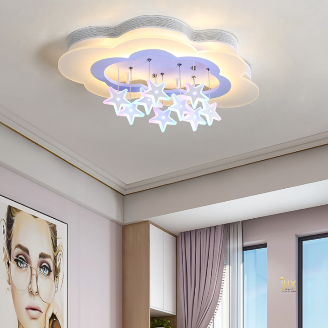 Singapore's Fully-Online Lighting Gallery - Pendant Lights, Hanging Lamps, LED Ceiling Lights, Ceiling Fixtures & Wall Lamps. Licorne - LEDs Ceiling Light with Free Delivery - No Min. Purchase for all BTO Home Lighting, Resale Home Lighting, EC / Condo Home Lighting, Restaurants Lighting, Cafes & Retail Lighting.