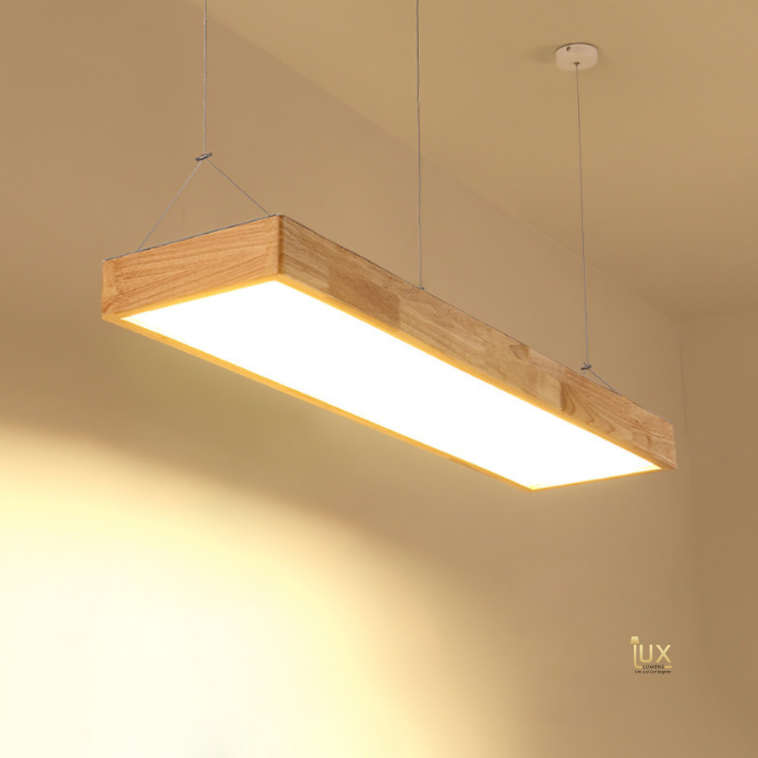 Scandinavian Wood, Linear LEDs Pendant Light - Singapore's Fully Online Lighting Gallery. Free Delivery for all BTO Lighting, Resale Flat Lighting, Condo Lighting, Executive Condo Lighting, Landed Lighting, Restaurant Lighting, Hotel Lighting & Retail Lighting