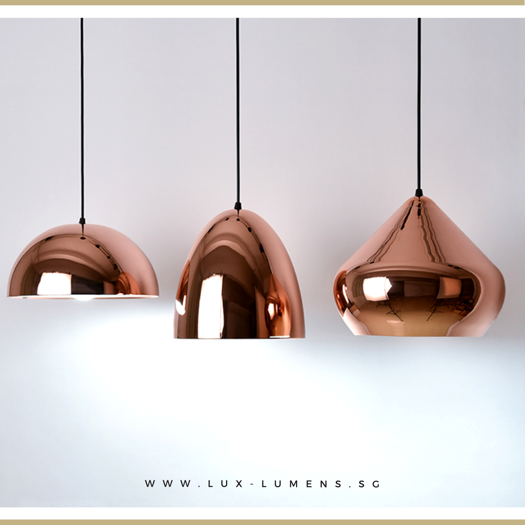 Luxüs - Rose Gold Pendant Light