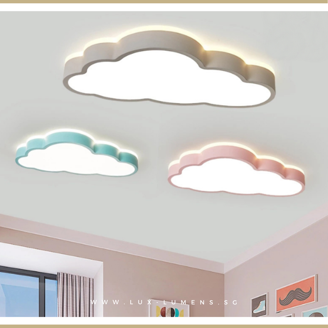 Macaron Clouds 360 LED Ceiling Light