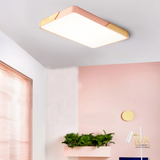 Get the Macron-Wood | Rectangle LED Ceiling Light from Lux-Lumens, Singapore's Fully Online Lighting Retail to complement your Modern Themes. Instant utility savings of up to 40% choosing LED Ceiling Lights. Free Island-wide Delivery - No Minimum Purchase for all BTO, Resale, EC, Condo, Restaurants, Cafes, Hotel & Retail Lighting.