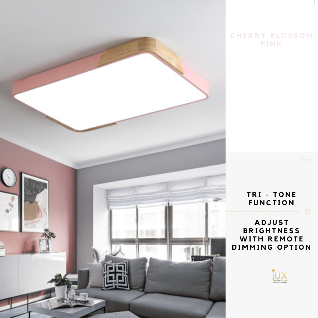 Singapore's Fully-Online Lighting Gallery - Pendant Lights, LED Ceiling Lights & LEDs Wall Lamps. Get your Macaron-Wood | Round LED Ceiling Light for your BTO Home Lighting, Resale Home Lighting, EC / Condo Home Lighting, Landed Lighting, Restaurants Lighting, Offices Lighting, Hotels & Retail Lighting.