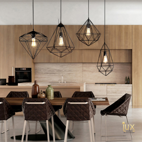 Lux-Lumens | Singapore's Fully-Online Lighting Retail - Pendant Lights, LED Ceiling Lights & Fans. Modern meets Luxury with the Minimalist Gems Pendant Light. Instant utility savings of up to 40% by fitting the lamp with LED Bulbs. Free Island-wide Delivery - No Minimum Purchase for all BTO, Resale, EC, Condo, Resturants, Cafes & Hotel.