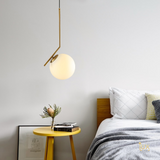 Minimalist Globe Pendant Light