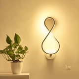 Minimalist 'Twist' LED Wall Lamp Lighting. Singapore Online Lighting Gallery for BTO, Resale, EC, Condo, Landed, Restaurants, Retail & Cafes. Free Delivery