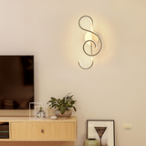 Minimalist Clef LED Wall Lamp.  Singapore Online Lighting Gallery for BTO, Resale, EC, Condo, Landed, Restaurants, Retail & Cafes. Free Delivery