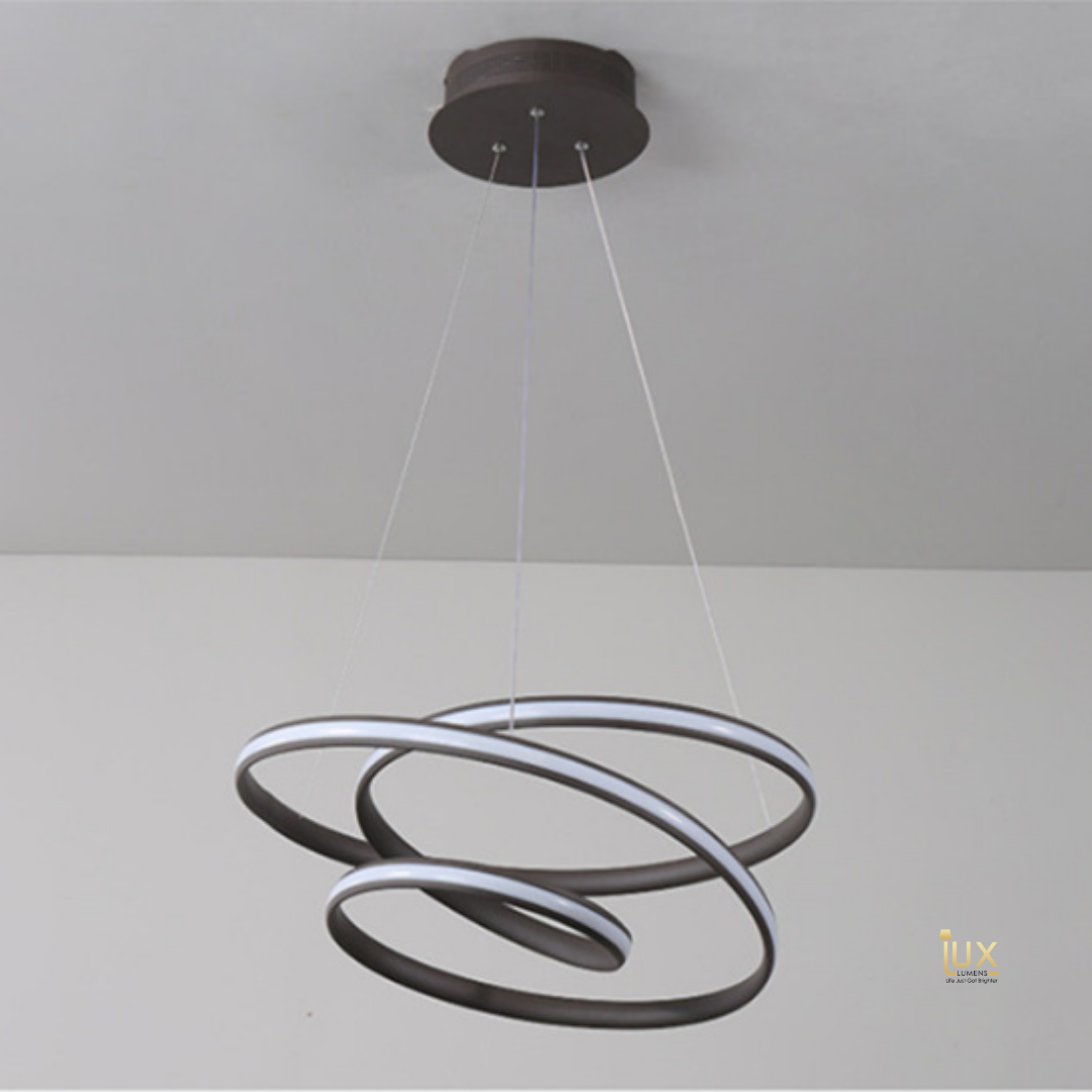 Contemporary Abstract Art Pendant Light