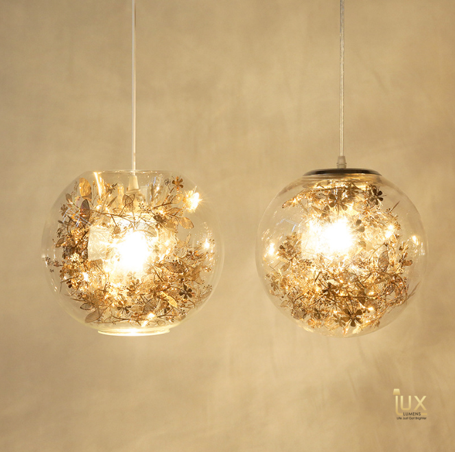 Modern Cloverfield Pendant Lights in Gold/Black, compatible with LED Light Bulbs from Lux-Lumens, Singapore's Fully-Online Lighting Retail for BTO, Resale, EC, Condo, Landed, Restaurants, Cafes, Hotels & Retail Shops. Free-Delivery, No Minimum Purchase in Singapore!