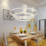 Modern Contemporary Halo Pendant Light