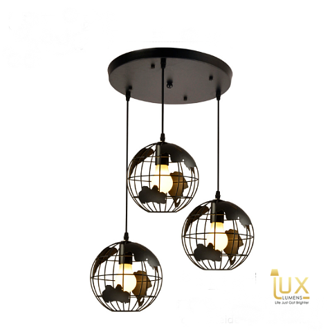 Singapore's Fully-Online Lighting Gallery - Pendant Lights, LED Ceiling Lights & Wall Lamp. Creativity with the Earth-Sphere Terra Pendant Light. Instant utility savings of up to 40% by fitting the lamp with LED Bulbs. Free Island-wide Delivery - No Minimum Purchase for all BTO, Resale, EC, Condo, Restaurants, Cafes, Hotel & Retail Lighting.