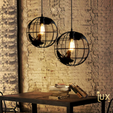 Lux-Lumens | Singapore's Fully-Online Lighting Retail - Pendant Lights, LED Ceiling Lights & Fans. Modern meets Creativity with the Modern Earth-Sphere Pendant Light. Instant utility savings of up to 40% by fitting the lamp with LED Bulbs. Free Island-wide Delivery - No Minimum Purchase for all BTO, Resale, EC, Condo, Restaurants, Cafes, Hotel & Retail Lighting.