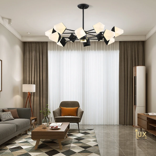 Cheap Ceiling Chandelier, Ceiling Lamp, Pendant Light & Ceiling Lamps from Lux-Lumens | Singapore's fully-online lighting gallery. Pendant lights, LEDs Ceiling Lights & Wall Lamps for HDB BTO, Resale, EC, Condo, Landed, Restaurants, Cafes and Hotels