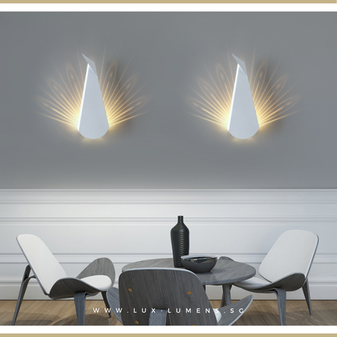 Modern LEDs Wall Lamps, Cheapest Quality Lighting Online, Singapore's Lighting Gallery for BTO flats, Resale flats, EC, Condo, Landed homes, Restaurants, Retail & Cafes. Free Delivery